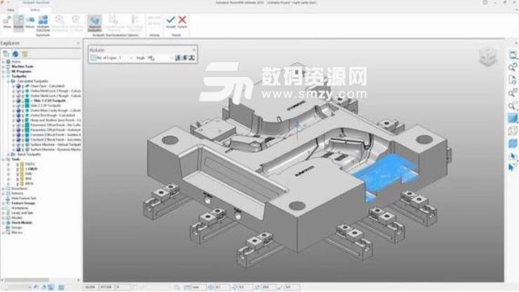 Autodesk PowerMill2019特别版