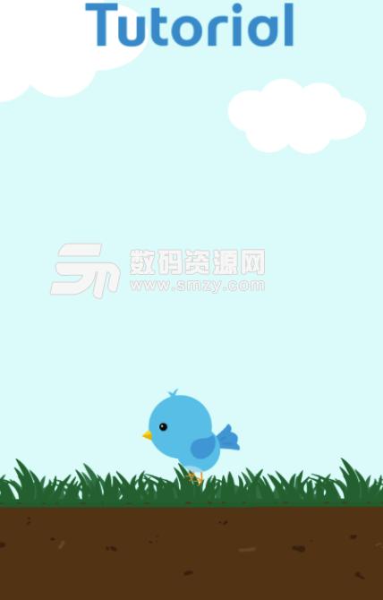 蓝色小鸟手机版图片