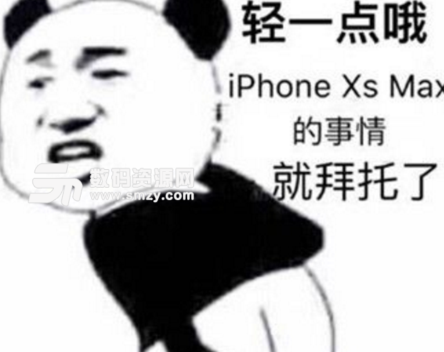 iphone xs/xs max系列表情包(一个的肾已经买了苹果手机了) 免费版图片
