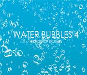 密集的水泡气泡笔刷