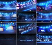 炫酷的音乐节舞会派对宣传片AE模板