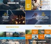 旅游公司广告宣传视频AE包装模板