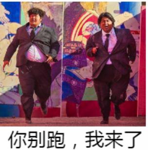 表情行动队动画(说话和你不想并扔了俩表情胖子包人像x苹果胖子图片