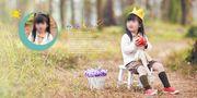 儿童摄影模板