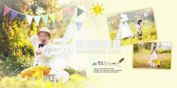 儿童摄影模板 森林公主 09
