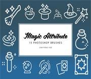 15款魔术魔法PS笔刷