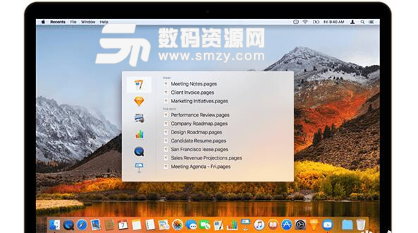 Recents for mac