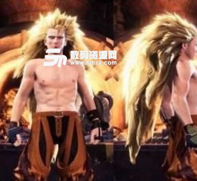 怪物猎人世界超级赛亚人发型MOD