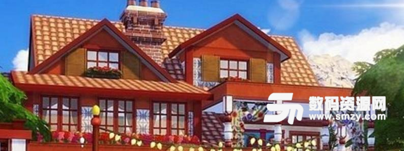 模拟人生4波希米亚式住宅MOD
