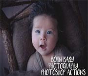新生儿宝宝照片调色动作