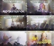 观众剪影舞台演唱会宣传片AE模板