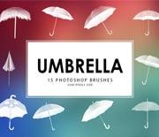 15款免費雨傘筆刷