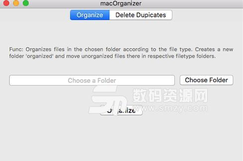 macOrganizer Mac版