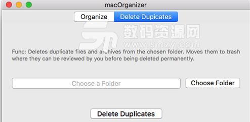 macOrganizer