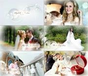 甜蜜唯美婚礼视频AE模板