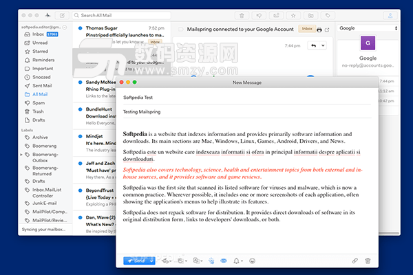 Mailspring for Mac