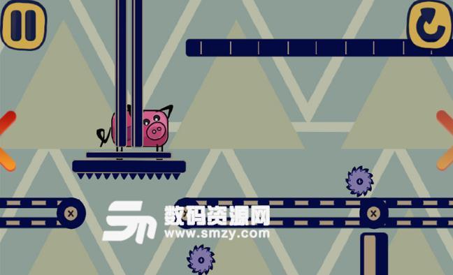 奔跑的像素猪安卓手游(画风可爱的横版跑酷) v1.51 免费版
