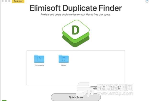 Elimisoft Duplicate Finder for mac