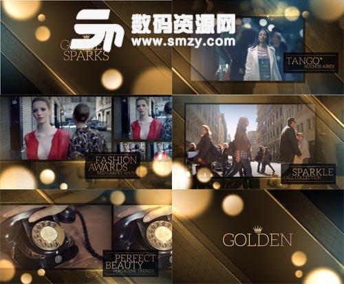 实用的年会活动晚会颁奖典礼视频AE片头模板下载
