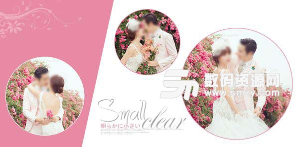 婚纱设计模板 柔软时光 05