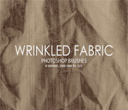 15个高品质皱纹布料笔刷