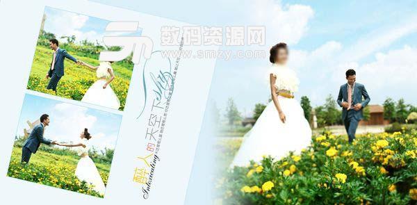 婚纱照设计模板 阿兰蒂斯之恋 01