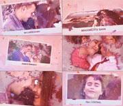 粉色水墨晕染情侣照片AE相册模板