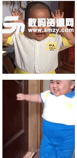 印尼小胖子表情包高清版(来自印尼的可爱小胖子) 无水印版图片