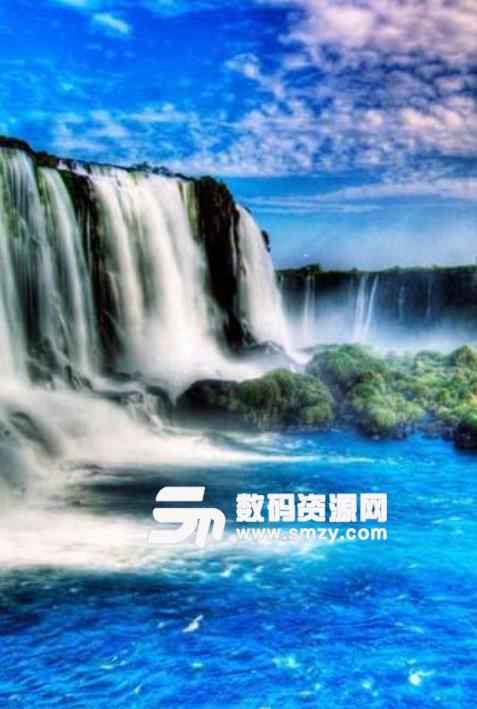 壁纸 风景 旅游 瀑布 山水 桌面 477_709 竖版 竖屏 手机