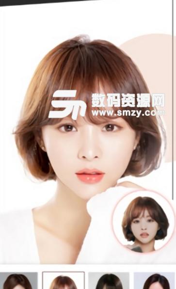使用此功能能测试设别脸型的分类,分析脸型特征,专业数据解决发型设计