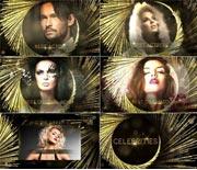 时尚酷炫的年会人物颁奖典礼整体AE包装模板
