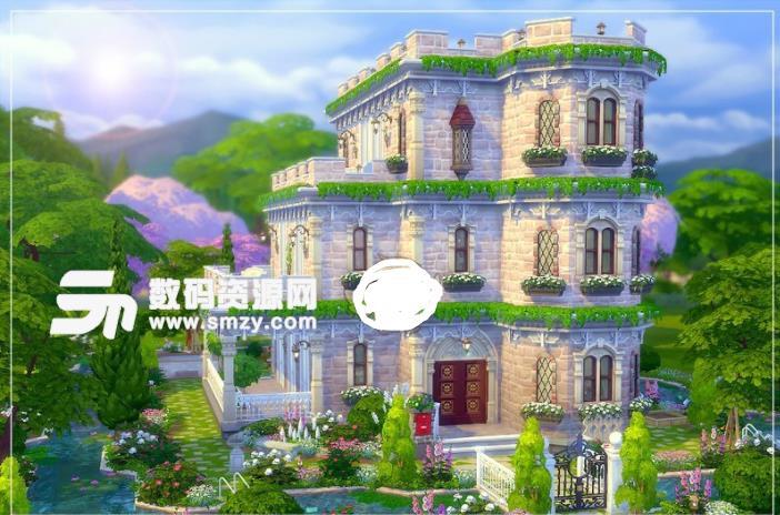 模拟人生4美丽城堡住宅MOD