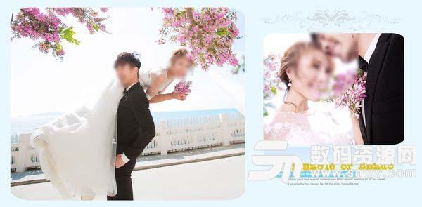 婚纱照相册模板 可爱の方程式 02