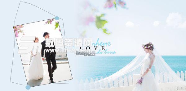 婚纱照相册模板可爱の方程式 08