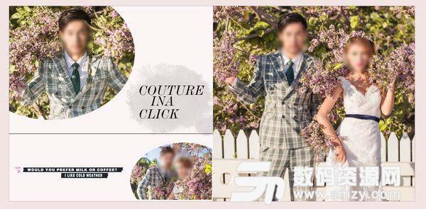 婚纱照相册模板 可爱の方程式 09