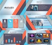 现代简洁公司企业团队业务宣传AE模板