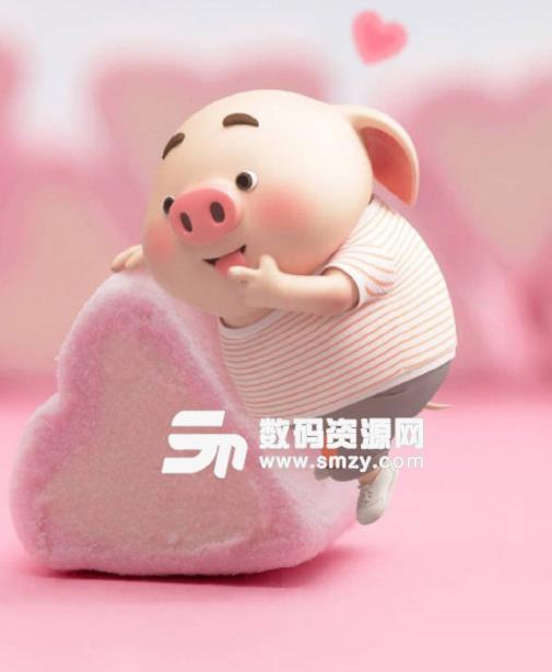 2019猪年可爱卡通小猪图片表情包