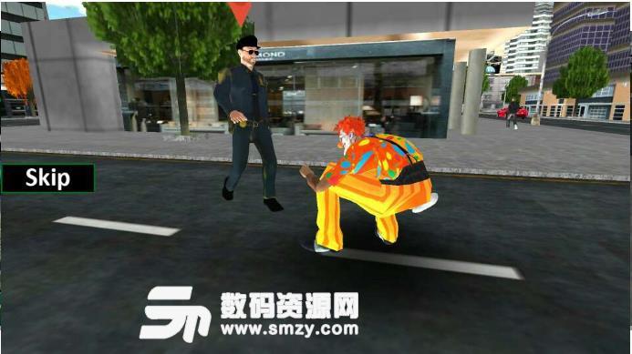 可怕的小丑攻击模拟器手游截图