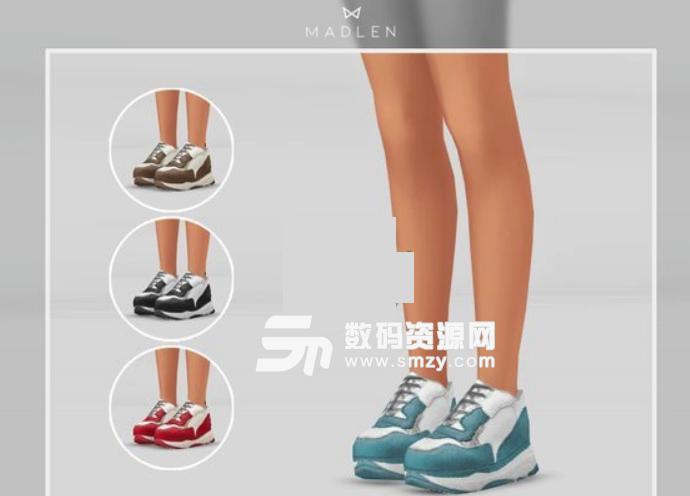 模拟人生4女士运动鞋MOD