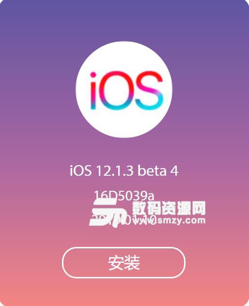苹果ios12.1.3描述文件介绍