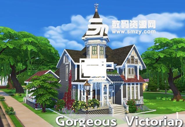 模拟人生4维多利亚风格住宅MOD