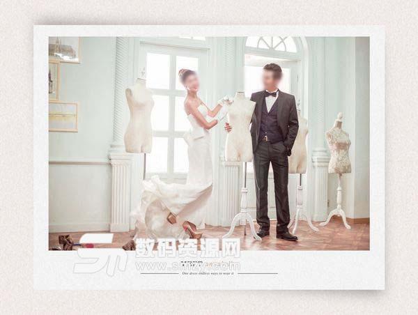 婚纱照设计模板 遇见安娜贝儿 06