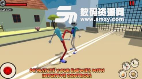 火柴人邪恶之城安卓游戏(街机趣味格斗) v1.1 手机版