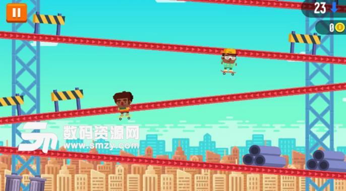 速降滑板手游破解版 速降滑板手游无限金币版下载 休闲挑战小游戏 v1.0.21 安卓版