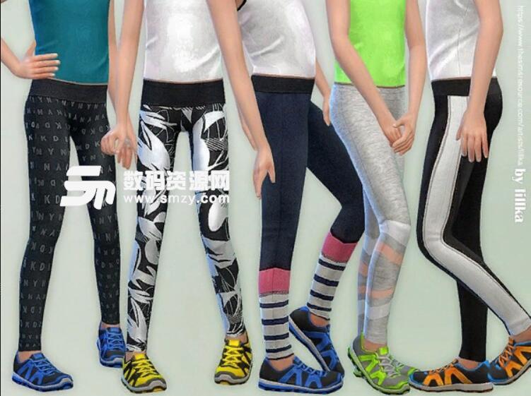 模拟人生4女孩运动护腿MOD