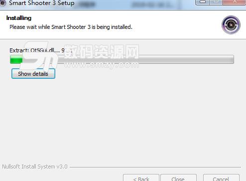 Smart Shooter完美版?#35745;?/></p><p>将安装包中crack文件夹下的破解补丁复制到软件安装目录,并替换</p><p>运行软件就是破解版了</p><h3>Smart Shooter完美版主要功能</h3><p>用定时曝光的灯泡拍摄</p><p>JPEG和RAW文件格式</p><p>连接和控制多个摄像头</p><p>通过USB线远程控制相机</p><p>完全控制相机设置</p><p>照片下载并在您的计算机上?#20801;?/p><p>实时缩放/平移照片?#20801;?/p><p>实时?#20801;?#21253;括叠加模式</p><p>实时查看每个帧到JPEG文件的记录</p><p>通过脚本自动控制</p><p>通过自动下载和预览进行系留拍摄</p><p><img src=