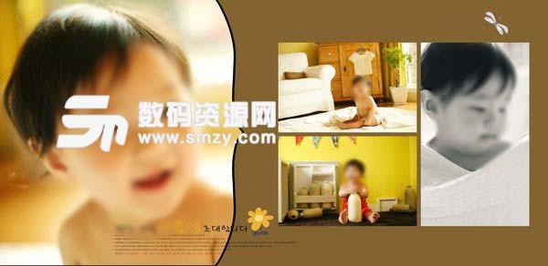 儿童摄影模板 小时光 01