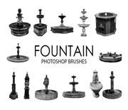 15款欧式喷泉笔刷