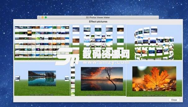 3D Photos Viewer Maker Mac版