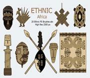 非洲部落素材PS筆刷